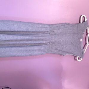 Short light purple dress
